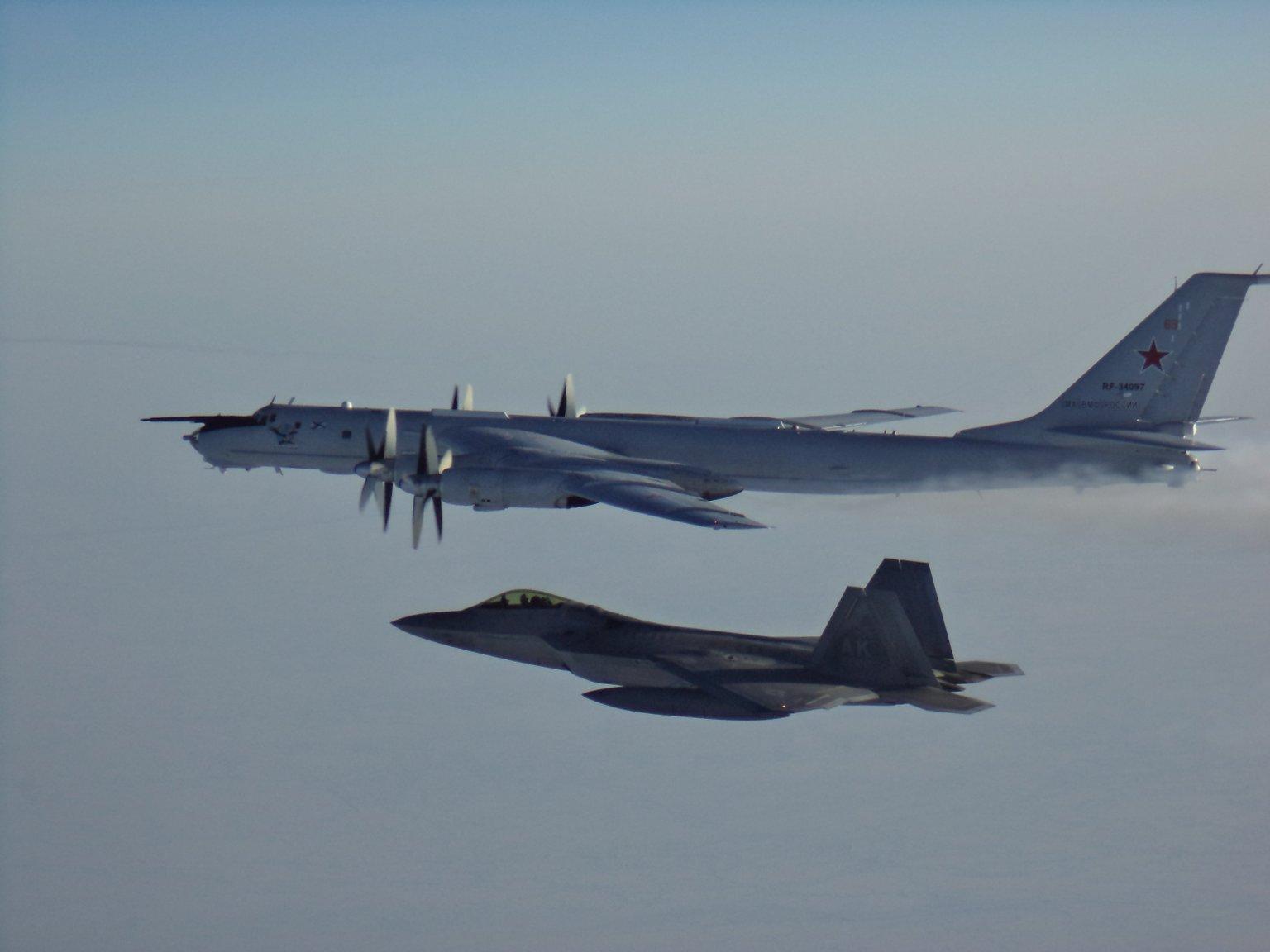 US and Canadian jets intercept Russian reconnaissance aircraft off Alaska