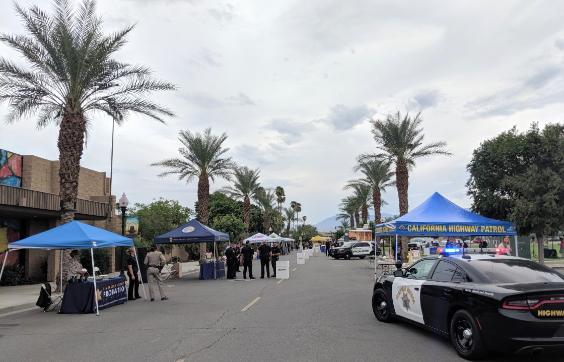 Indio Police Officers Strengthen Bond with Residents