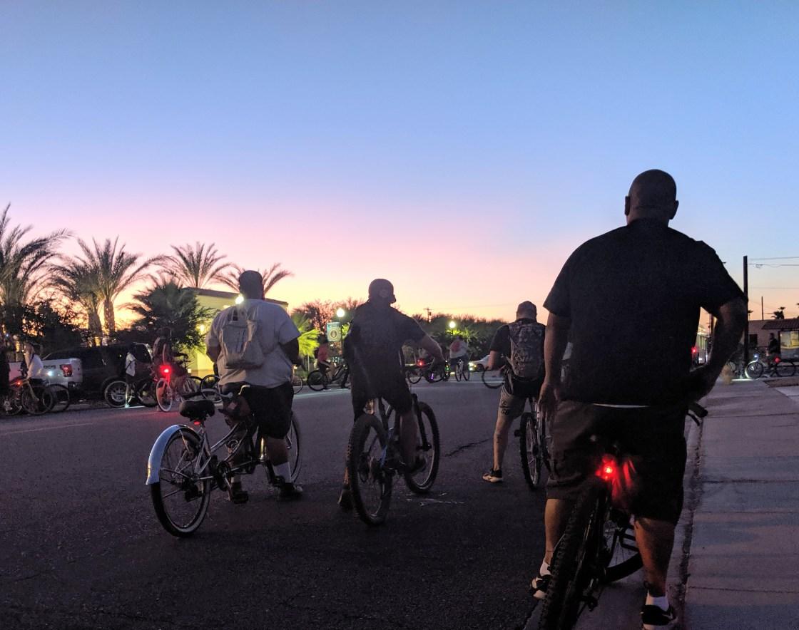 Social Bike Clubs Pop-up in the Desert