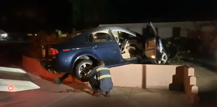 Man Arrested For DUI After Crashing Into House