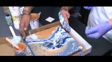 Painting Through Pain: Battling chronic illness, Navy veteran finds joy in art