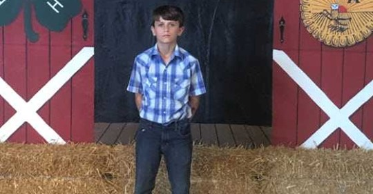 7th grade boy donates $15K from county fair winnings to St. Jude Children's Research Hospital