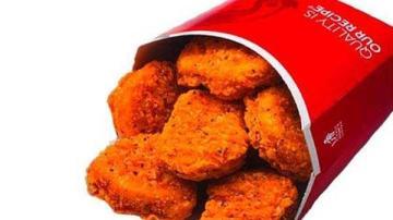 Wendy's spicy chicken nuggets return Monday