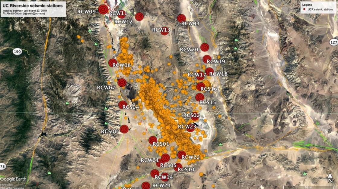 Seismologist Studies Dimensions, Dynamics of Ridgecrest Fault Line