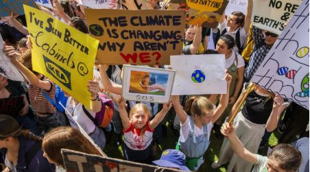 Climate strikes sweep the globe as protesters demand urgent action