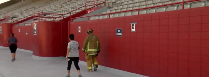 First responders climb 2071 steps for the 8th year to remember the fallen heroes of 9/11