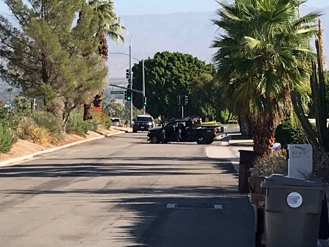 Pedestrian Killed When Vehicle Veers Onto Sidewalk In Palm Desert