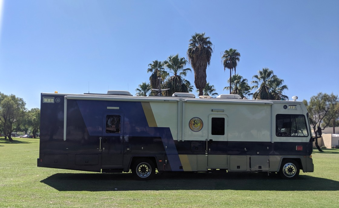 Police Mobile Unit Cracks Down on Crime in Sunrise Park
