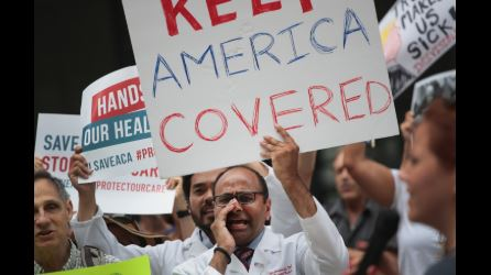 Uninsured rate rises for first time since 2009