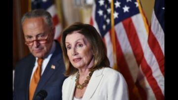 Pelosi calls for law to be able to indict presidents