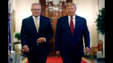 President Trump pressed Australian Prime Minister to help with Justice review of Russia probe origins