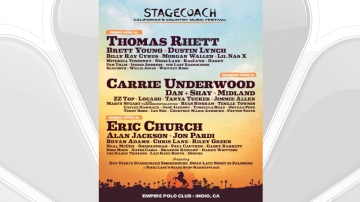 Set Times Announced for Stagecoach 2020