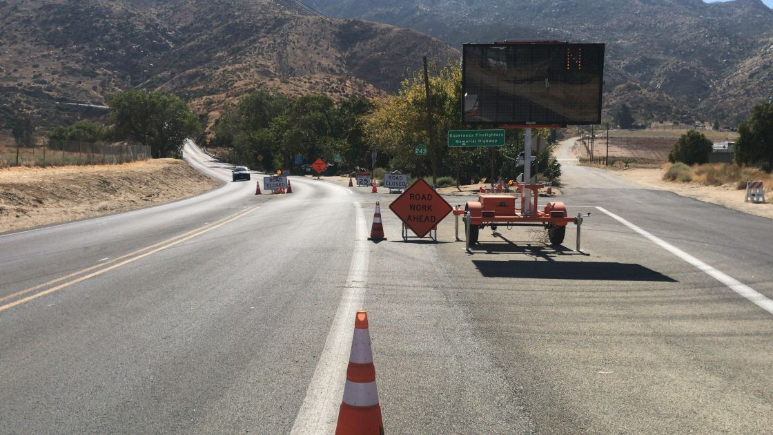 State Route 243 to Fully Reopen Thursday or Friday