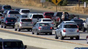 Bumper to Bumper Traffic During Westbound 60 Closure