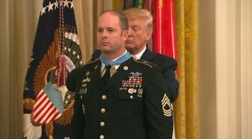 President Trump awards Medal of Honor to Green Beret who fought in Afghanistan