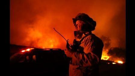 California's Office of Emergency Services Operating at Highest Level