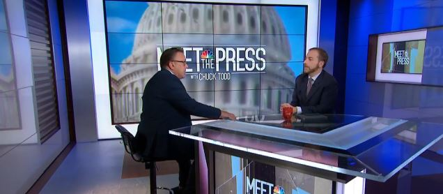 NBC Palm Springs' Gino LaMont Sits Down with Chuck Todd from Meet The Press
