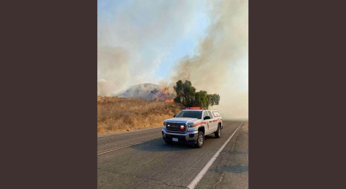 46 Fire 100% Contained in Jurupa Valley