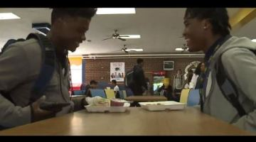 Two high school seniors go viral after befriending lonely freshman
