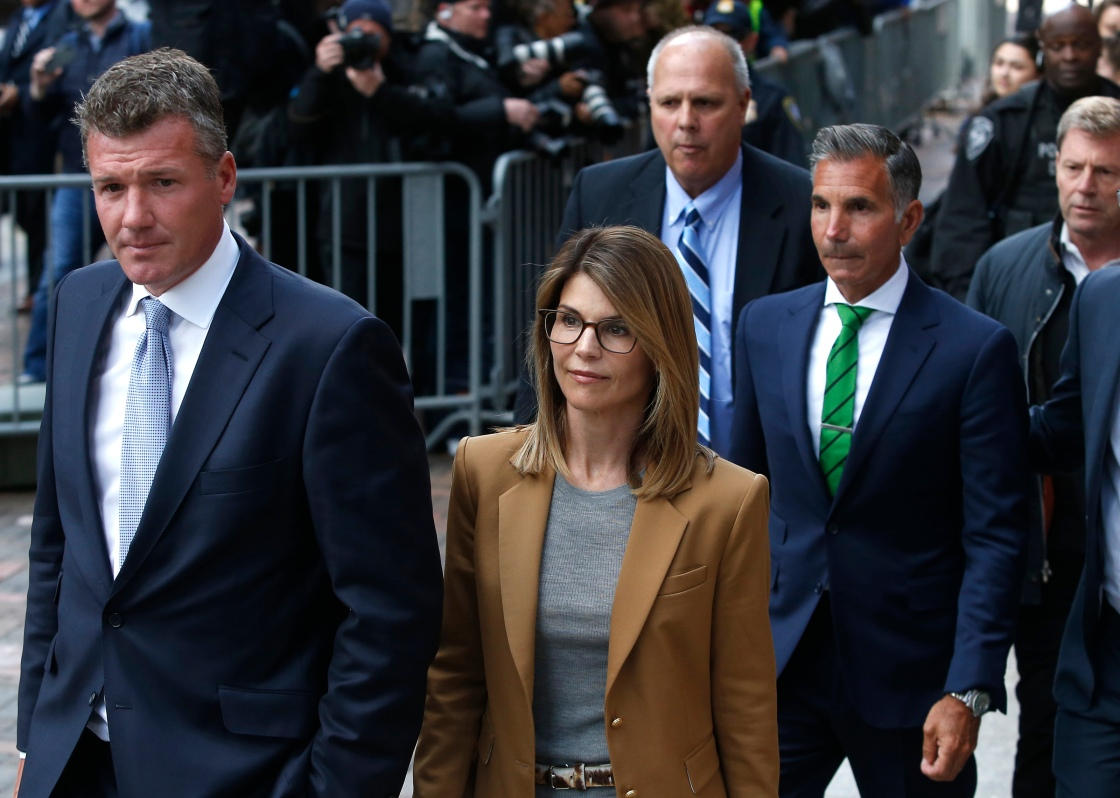 Lori Loughlin will stand trial with her husband and 6 other parents in October