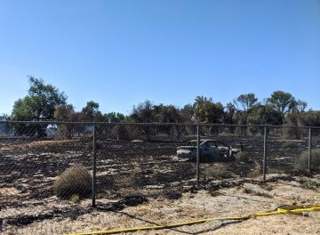 Stolen Car in Police Chase Sparks Jurupa Valley's 46 Fire