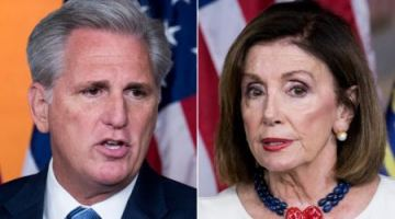 Kevin McCarthy calls on Nancy Pelosi to suspend impeachment inquiry