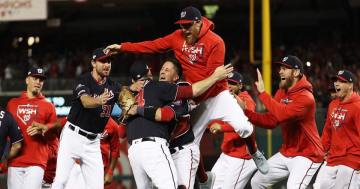 Washington Nationals defeat Houston Astros to clinch first World Series