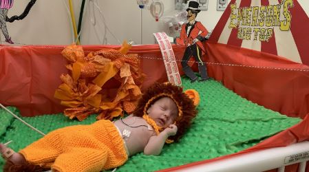 Here are some ridiculously cute photos of babies in NICU dressed up for Halloween