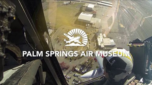 Palm Springs Air Museum Hosts Santa Flyover to Show Recognition to Medical Workers
