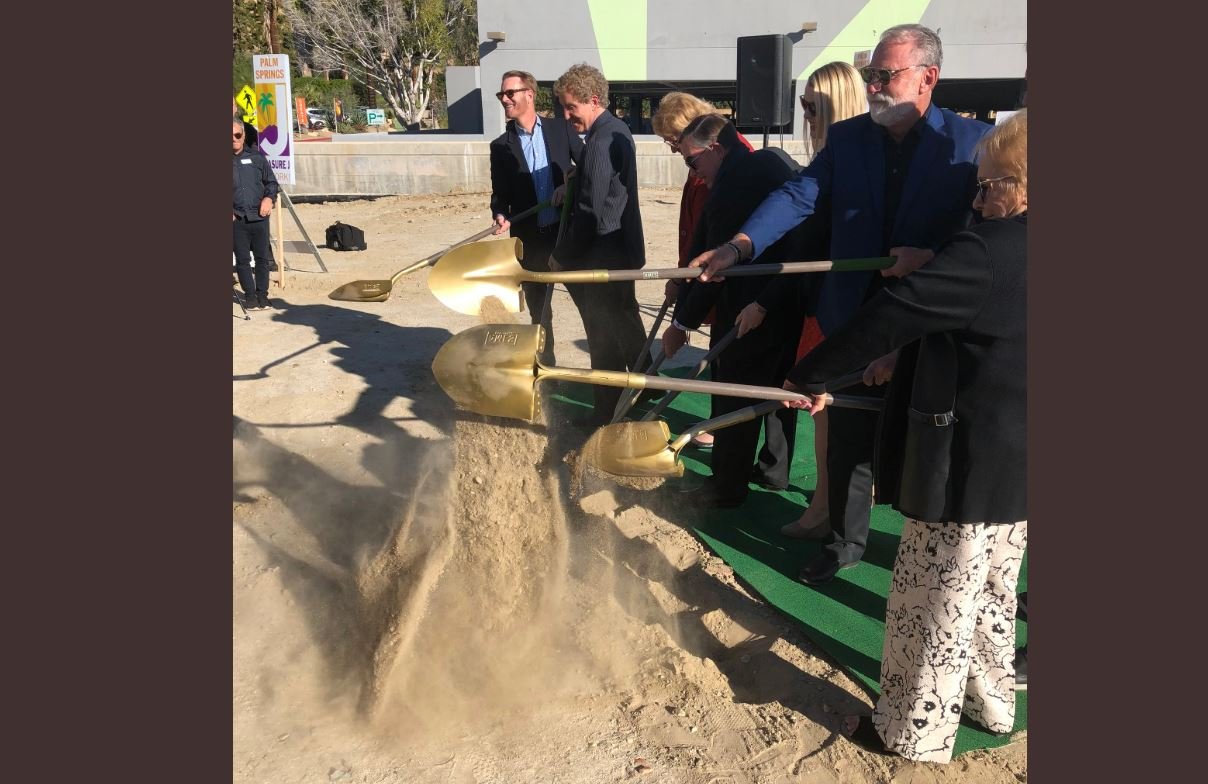 Palm Springs Breaks Ground for New Downtown Park