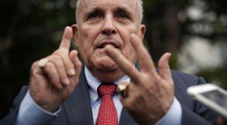 Giuliani claims he's 'more of a Jew' than Holocaust survivor George Soros