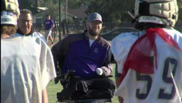 Routine procedure caused coach to lose both legs, left hand and fingers — but not his positivity