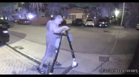 A man in Florida was arrested for cutting brake lines on dozens of electric scooters