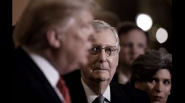 Trump warns GOP Senate leader Mitch McConnell about disloyal Republicans