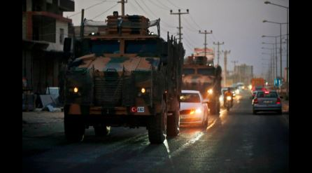 Turkish artillery fire comes close to US forces in Syria