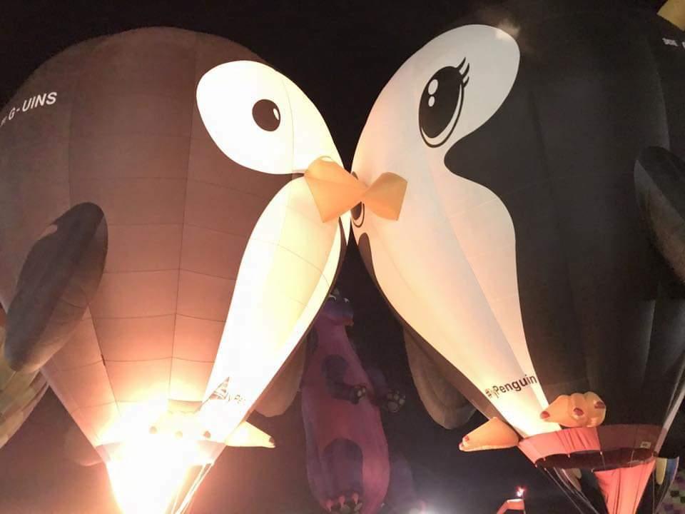 Arsonist Destroys Beloved 'Puddles' Hot Air Balloon Penguin