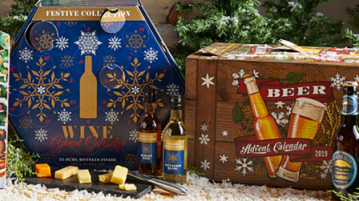 Aldi's Advent calendars are full of wine, cheese and chocolate