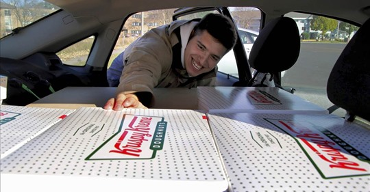 Krispy Kreme strikes deal with college kid who drives 250 miles to resell its doughnuts