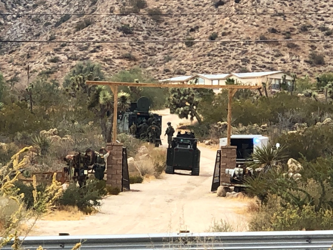 Suspect Killed in Deputy-Involved Shooting in Morongo Valley Identified