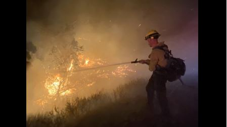 Fire near Santa Barbara has charred more than 4,000 acres and is 0% contained