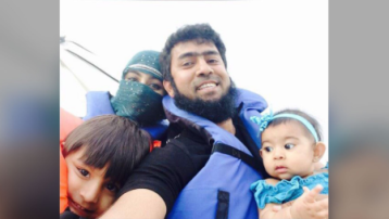 A US father fears for his young children trapped in Syria