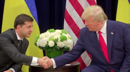 White House releases rough transcript of Trump's first Ukraine call