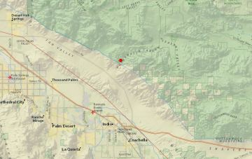 Earthquakes Magnitude 3.0 and 3.5 Felt in Indio