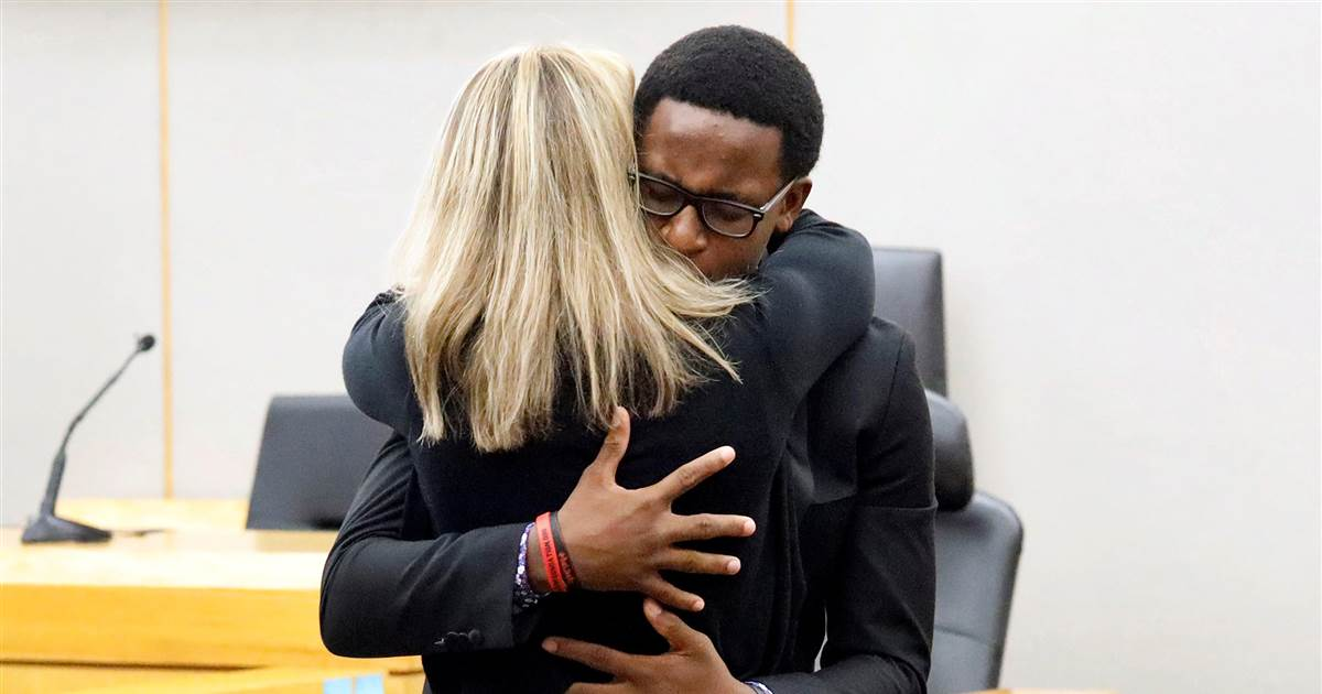 The spirit of forgiveness behind Brandt Jean's hug that shocked the nation
