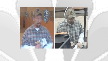 Investigators Release Photo of Calimesa Bank Robbery Suspect