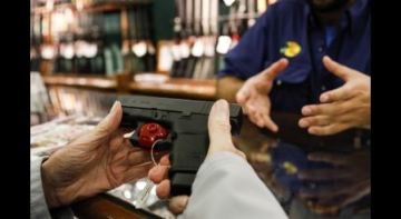 Black Friday saw the second-highest number of gun background checks ever