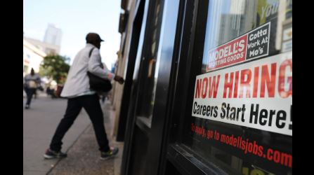 US hiring rebounds in wake of GM strike