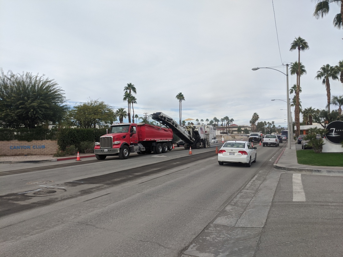 Turning Indian Canyon Drive into Two-Way Traffic