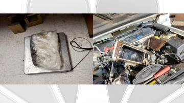 Border Patrol Finds Methamphetamine in Intake Manifold