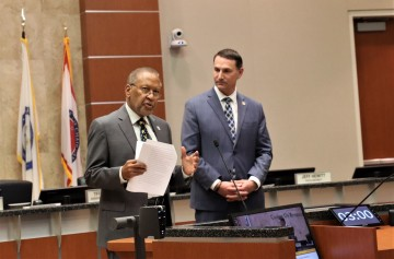 Supervisor Washington Re-Elected to Prestigious Statewide Committee